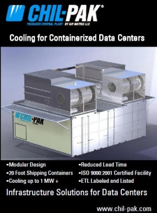 Cooling for Containerized Data Centers