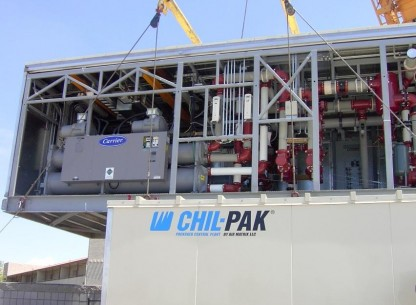 Chil Pak with Carrier Chiller